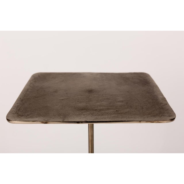 This drinks table has been handcrafted based on popular styles of the past. Featuring a telescoping base, each is crafted...