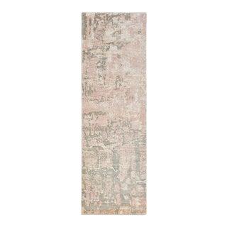 Blush, Handmade Runner Rug - 2' 6 x 8 For Sale