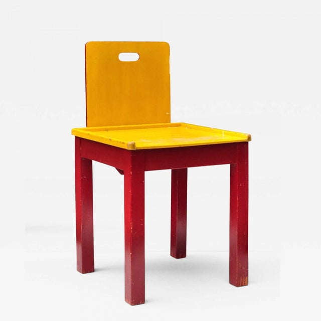 Child Chair Construction, Switzerland 1950s For Sale - Image 9 of 9