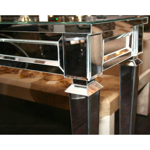 Venfield Custom Mirrored Console Table For Sale - Image 4 of 8