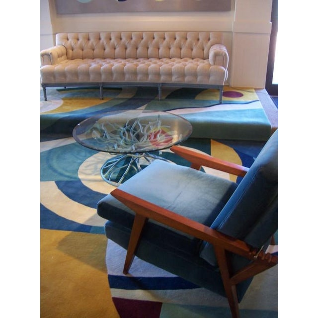 Custom Edward Field Deco Style Rug (13 x 13 Foot) - Image 3 of 5