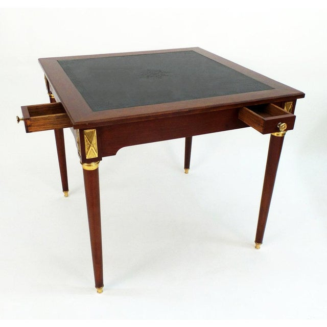 Louis XVI Style Game Table For Sale In New York - Image 6 of 7