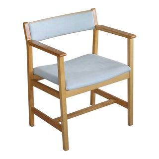 Børge Mogensen Model 3242 Oak Side or Armchair for Fredericia Stolefabrik For Sale