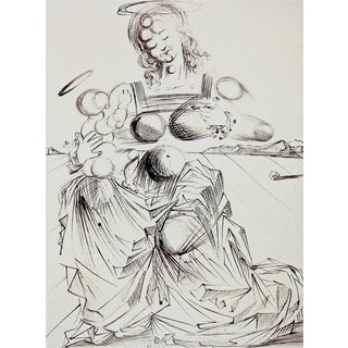 Salvador Dalí­ Disintegrating Mother & Child 1989 For Sale