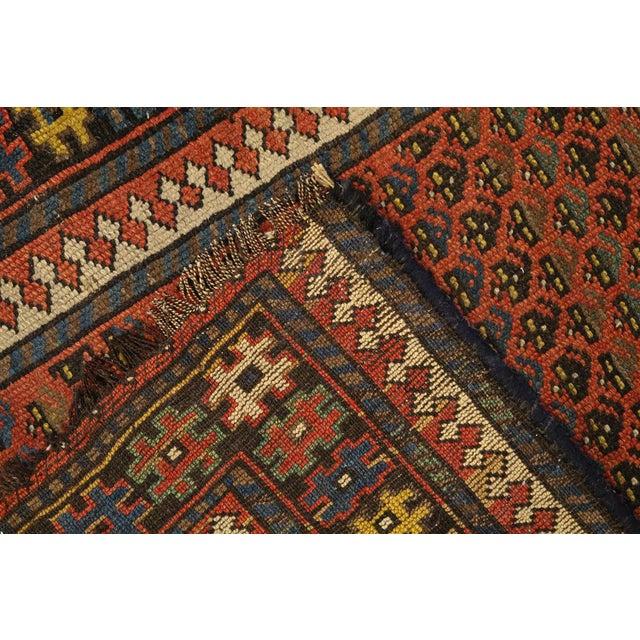 Antique Kurdish Persian Hallway Runner Rug - 3′8″ × 9′ - Image 4 of 4