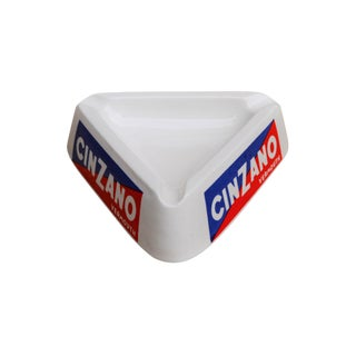 Cinzano Vermouth Ceramic Italian Ashtray