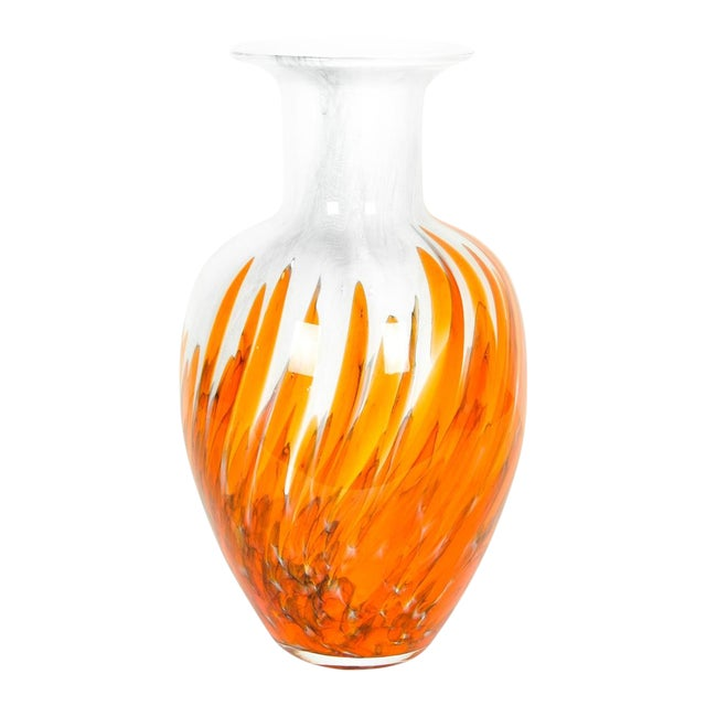 Mid Century Modern Art Deco Style Murano Glass Piece For Sale