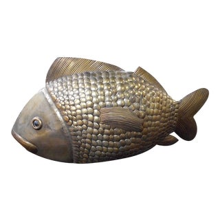 Sergio Bustamante Limited Edition Brass Fish