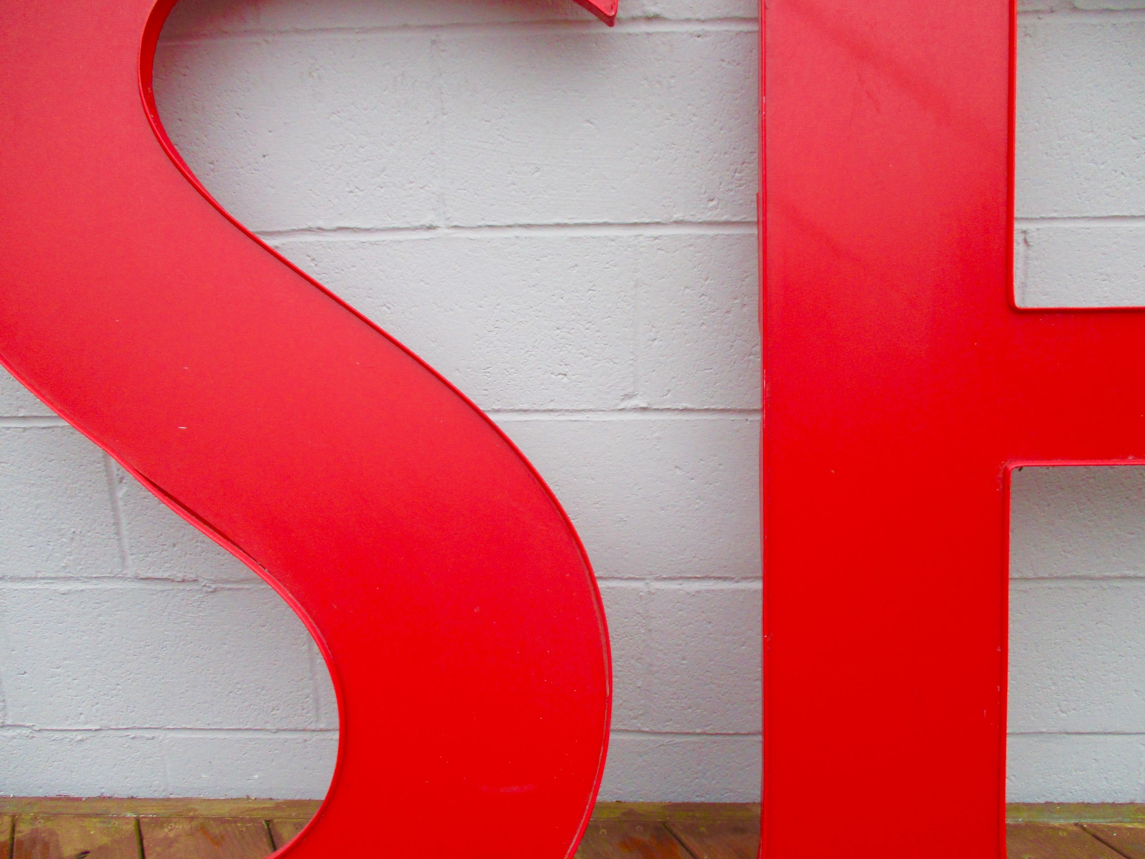 Exceptional S F San Francisco California Pop Art Prop   S/2 Sign Letters   Image 5