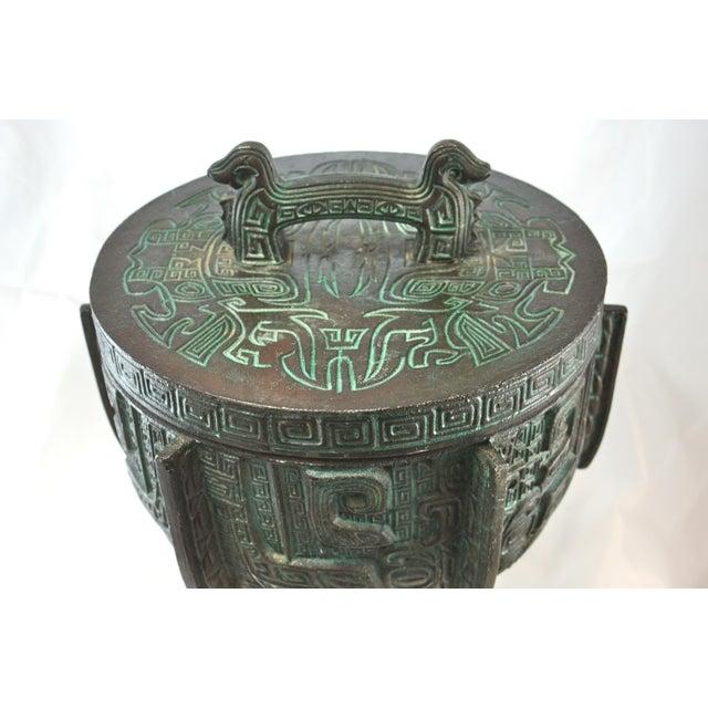 James Mont Aqua James Mont Oversize Ice Bucket For Sale - Image 4 of 8