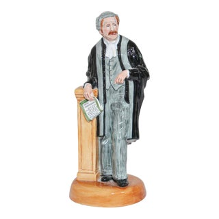 """Royal Doulton """"The Lawyer"""" HN 3041 British Collectible Porcelain Figurine For Sale"""
