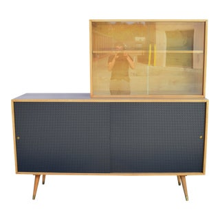 Paul McCobb Planner Group Credenza - Mid Century Modern Buffet Cabinet For Sale