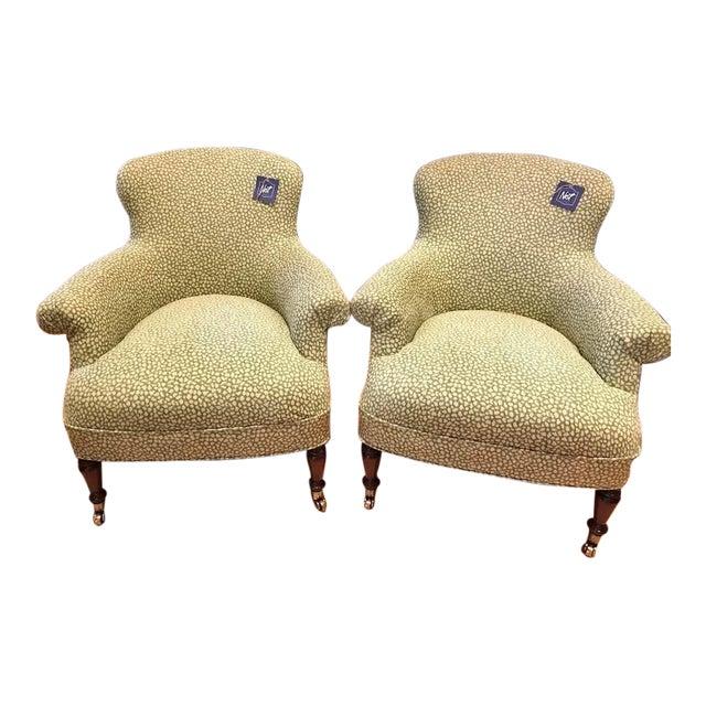 Ralph Lauren Arm Chairs - Pair - Image 1 of 5