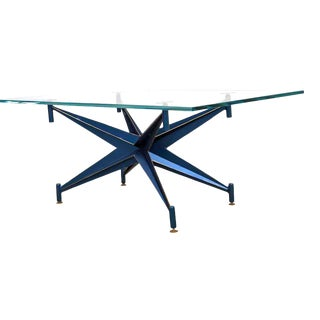 Invictus Steelworks Glass and Metal Coffee Table