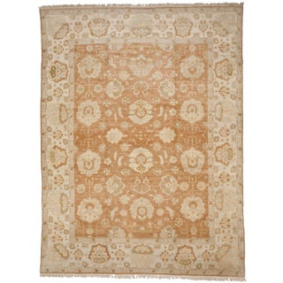 Hand-Knotted Egyptian Palatial Carpet - 12' x 16' For Sale
