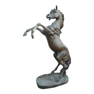 A.J. John Bronze Horse Statue For Sale