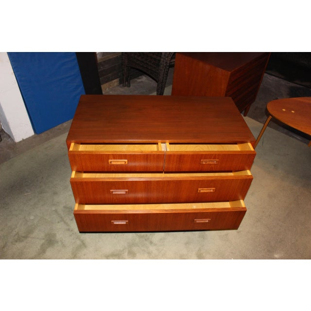 Lyby Mobler Mid-Century Danish Modern 4 Drawer Dresser - Image 4 of 6