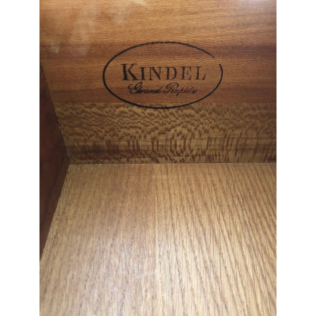 Wood 1980s French Country Kindel 7-Drawer Tall Lingerie Chest For Sale - Image 7 of 8
