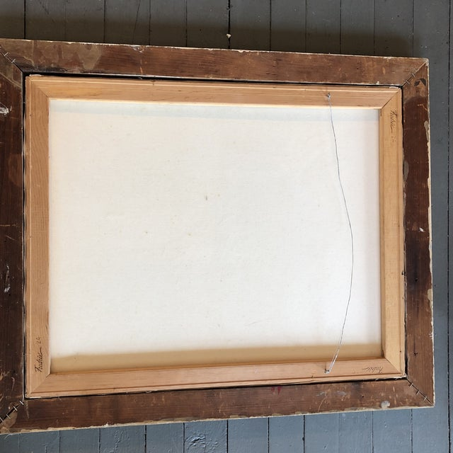 Original Stewart Ross Female Nude Modernist Painting For Sale - Image 4 of 5