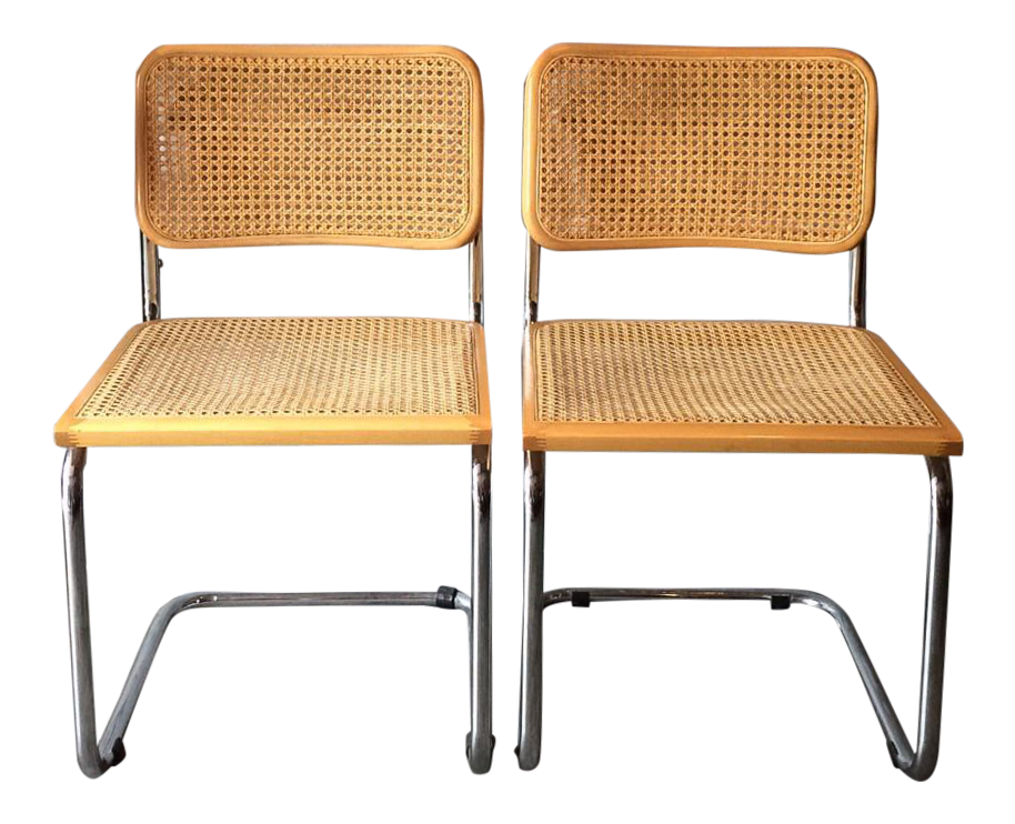 Marcel Breuer Style Cesca Chairs   Set Of 4   Image 5 Of 5