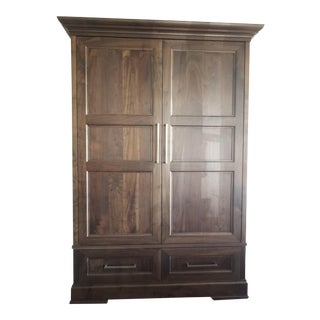 Custom Walnut Armoire