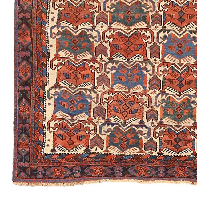 Persian Antique Persian Area Rug Sirjan Design For Sale - Image 3 of 5