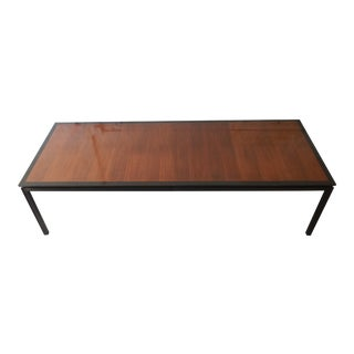 Edward Wormley for Dunbar Mid-Century Modern Extension Dining Table, 1950s
