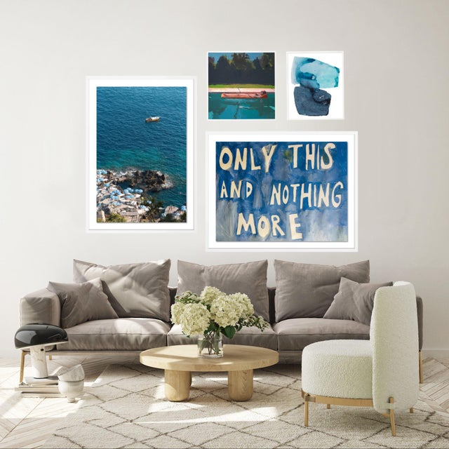 Portofino Gallery Wall, set of 4 For Sale - Image 4 of 9