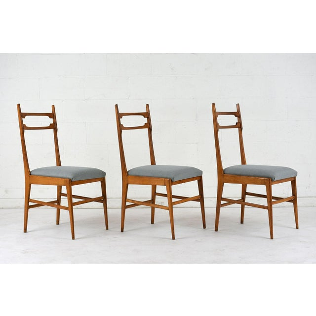 Set of 6 Mid-Century Modern Dining Chairs - Image 3 of 9