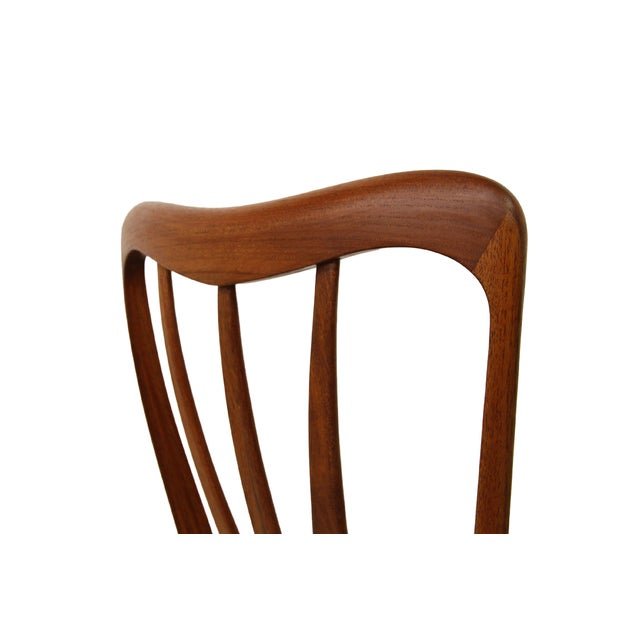 Danish Teak Koefoed Hornslet Dining Chairs -Set 6 - Image 6 of 8