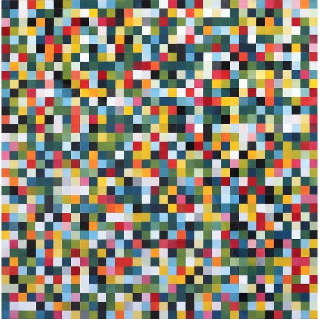 """""""1296 Squares"""" Original Artwork by Brandon Neher For Sale"""