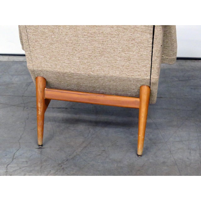 Pair of Danish Modern Lounge Chairs For Sale In Philadelphia - Image 6 of 9