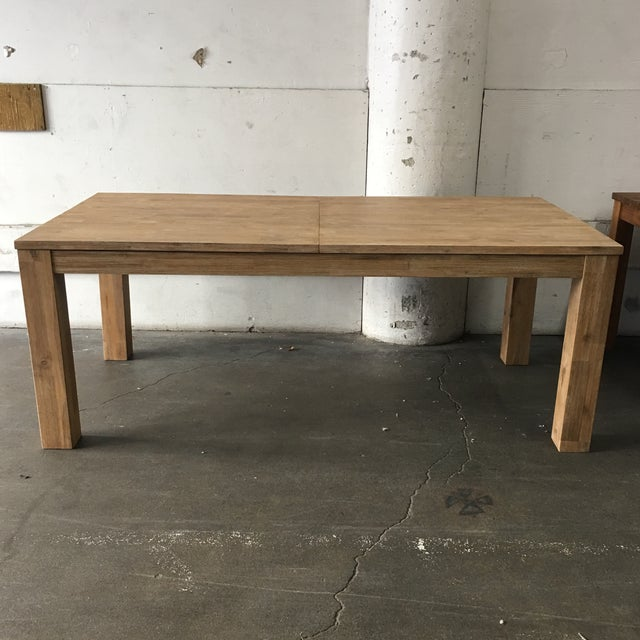 N.P.D. Bedford Butterfly Dining Table in Brushed Smoke For Sale - Image 4 of 9