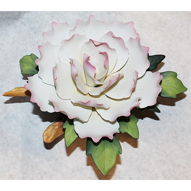 Andrea of Sadek Bisque-Porcelain Flower - Image 6 of 8