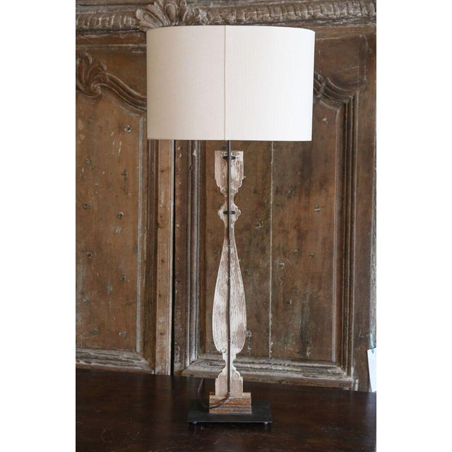 Four Painted Wood Silhouette Lamps For Sale In Houston - Image 6 of 9