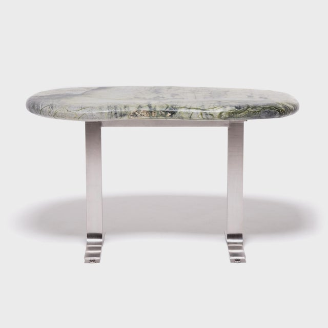 Contemporary Meditation Stone Top Desk For Sale - Image 3 of 8