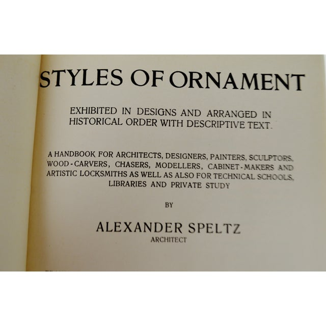 The Styles of Ornament by Alexander Speltz - Image 8 of 11
