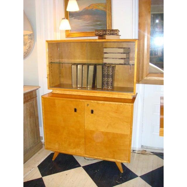 Swedish Flame Birch Cabinet - Image 5 of 7
