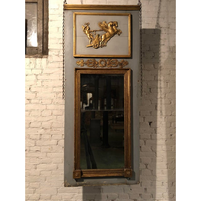 Gold Trumeau Mirror For Sale - Image 8 of 11