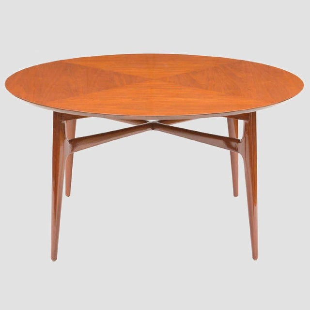 Mahogany Mid-Century Cocktail Table For Sale In Chicago - Image 6 of 12