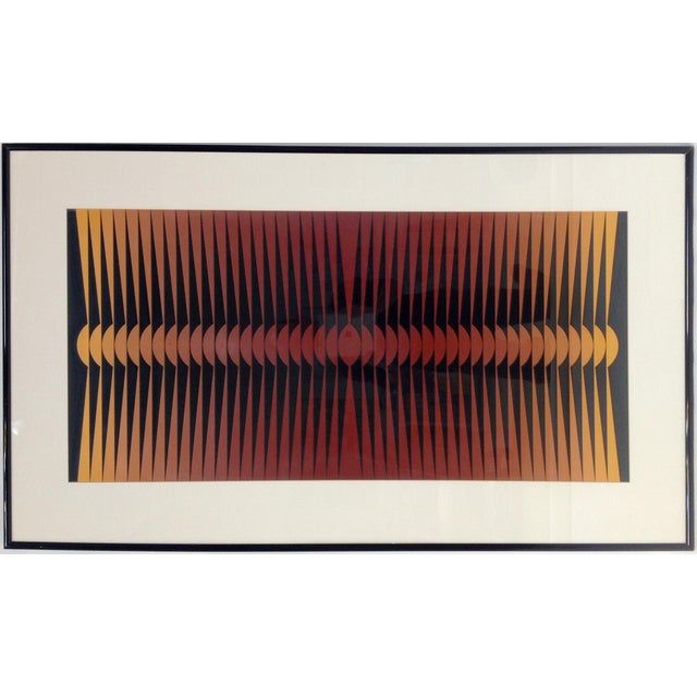 Op-Art Painting by Dordevic Miodrag For Sale