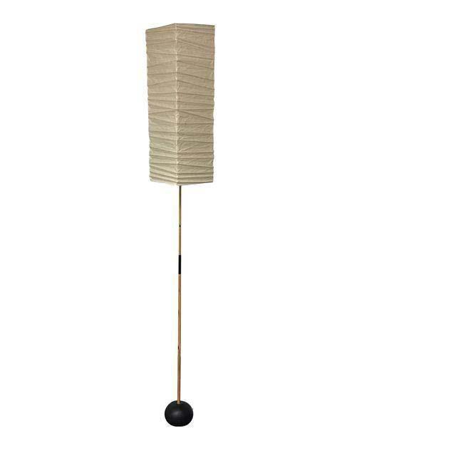 Noguchi Akari Floor Lamp   Chairish