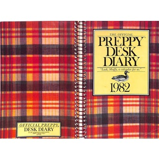 The Offical Preppy Desk Diary 1982 For Sale