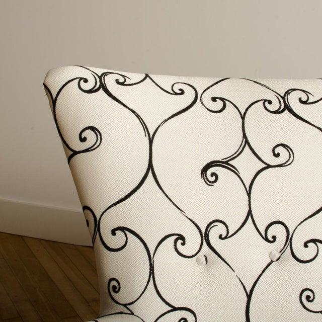 White 1950s Italian Paolo Buffa Style Sofa For Sale - Image 8 of 11
