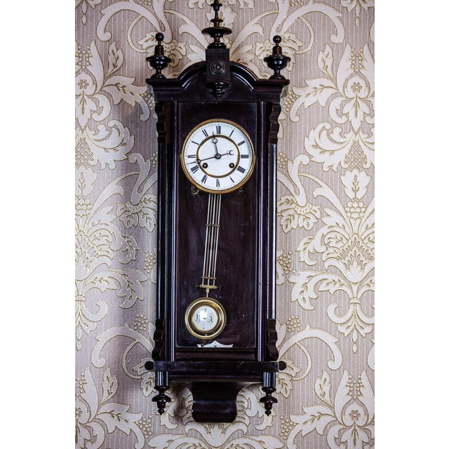 19th-Century Louis Philippe Wall Clock For Sale - Image 10 of 10