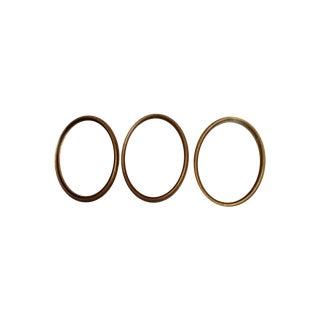 Gold Frames - Set of 3