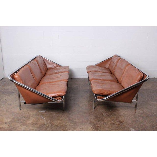 Pair of Sling Sofas by George Nelson For Sale - Image 10 of 10