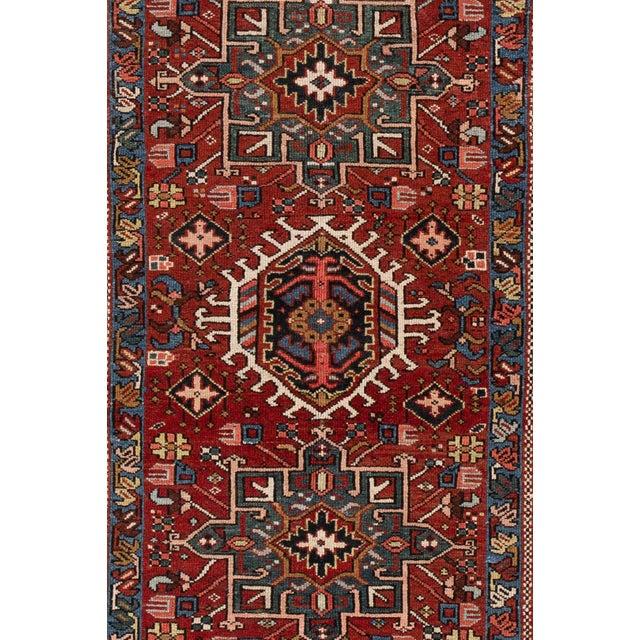 "Islamic Apadana - Vintage Persian Heriz Rug, 4'9"" X 6'1"" For Sale - Image 3 of 6"