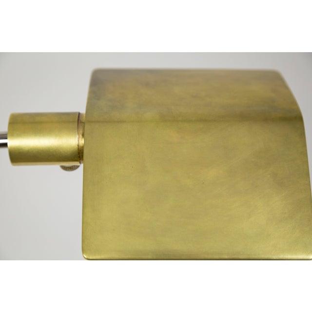 1970s Cedric Hartman Brass Floor Lamp For Sale - Image 10 of 13
