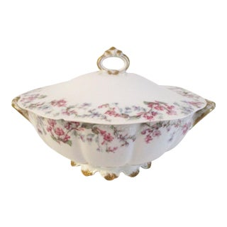 1920s Limoges France Vegetable Tureen For Sale